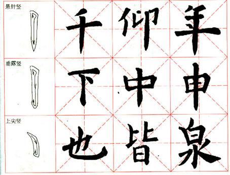《九成宫醴泉铭》临习指导(1) - 清茗半盏 - 息影轩