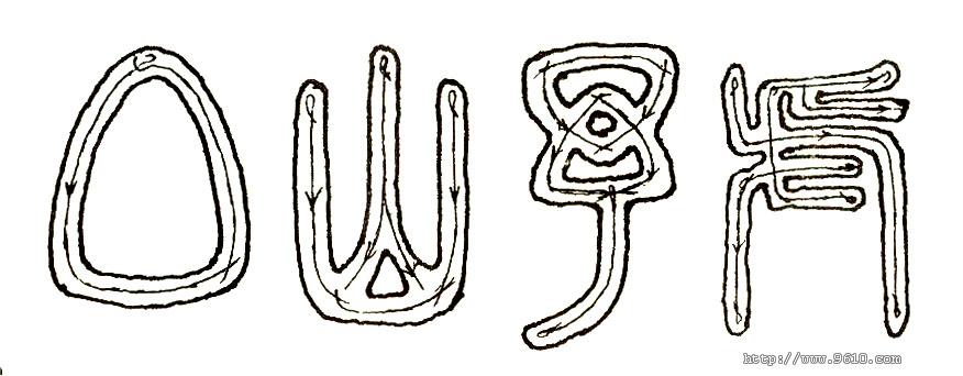 小篆的笔法分析 - 法珍 - 法珍的博客